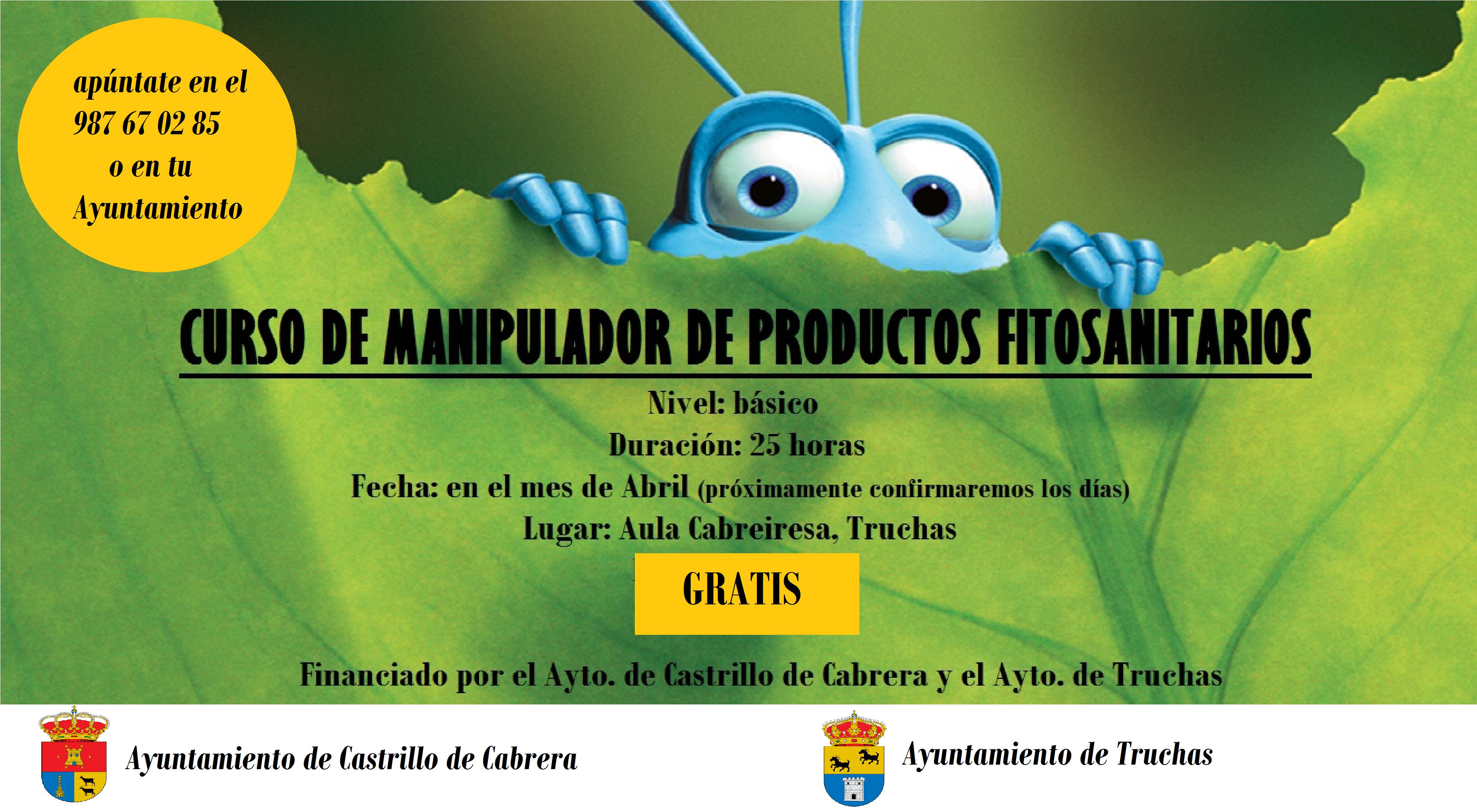 Curso de manipulador de productos fitosanitarios ayuntamiento de castrillo de cabrera - Curso de manipuladora de alimentos gratis ...